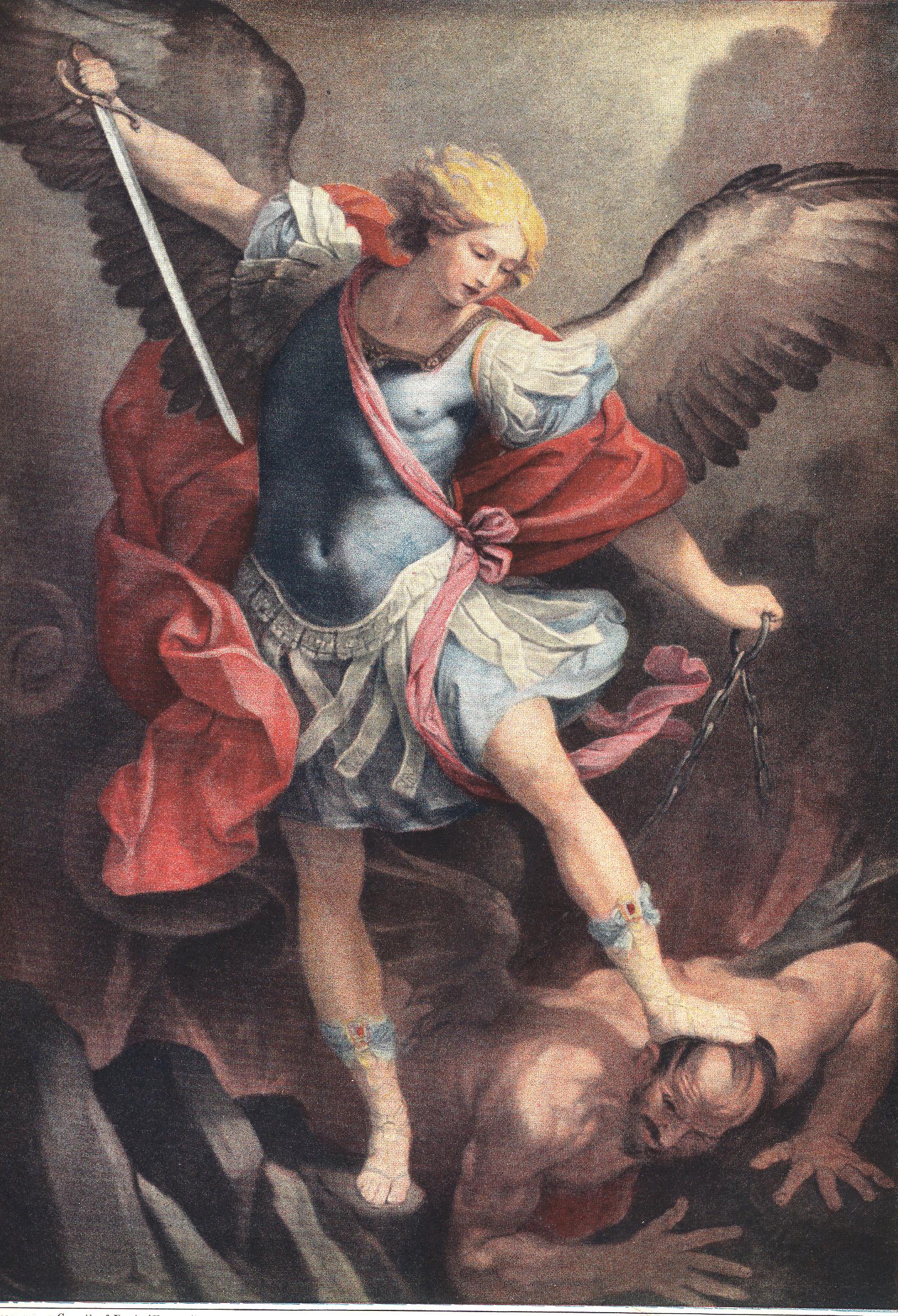 saint michael The chaplet of st michael the archangel pat megbuniwe loading  st michael archangel & story of lucifer's fall - st michael prayer - duration: 50:06.